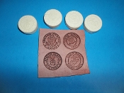 Military Insignia Medallions Set of 4